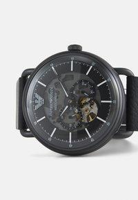 Emporio Armani - LUIGI - Watch - black - 5