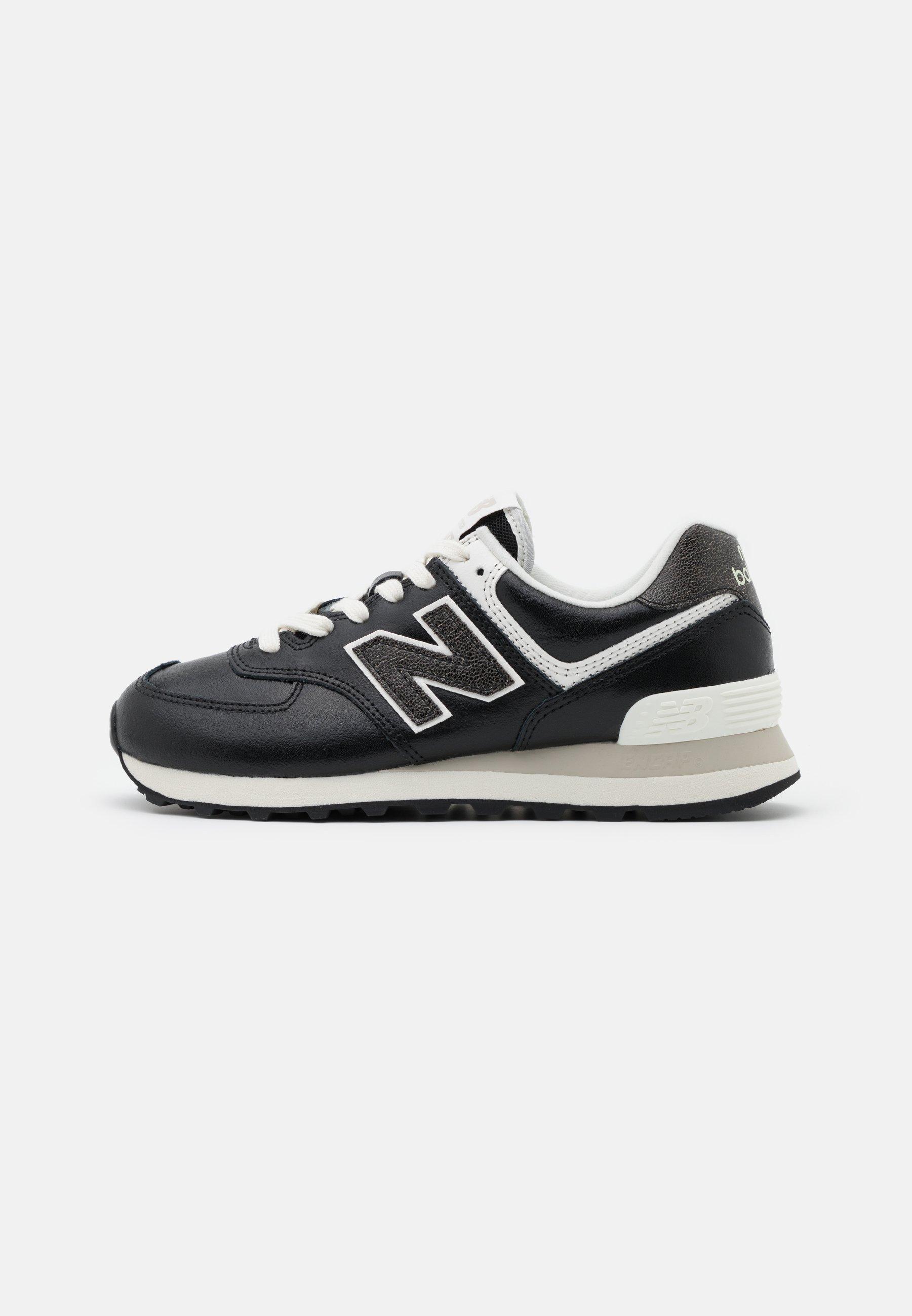 New Balance WL574 - Sneakers basse - black/white/nero - Zalando.it