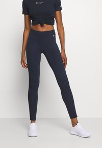 Champion - LEGGINGS LEGACY - Punčochy - dark blue - 0