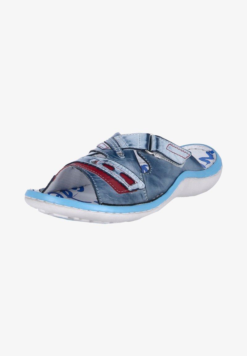 Krisbut - Pool slides - blau - weiß - rot