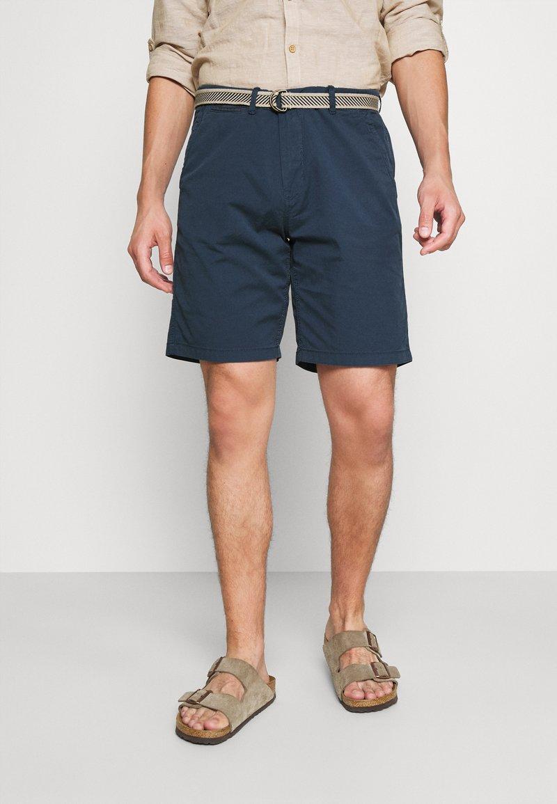 Springfield - BERM LIGHT - Shorts - medium blue