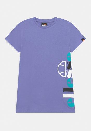 VOSCIOLA  - Jersey dress - purple