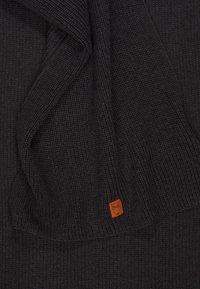 Knowledge Cotton Apparel - JUNIPER  - Scarf - dark grey - 3