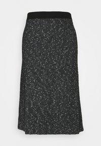 MAX&Co. - DARWIN - Jupe trapèze - dark grey/black - 0