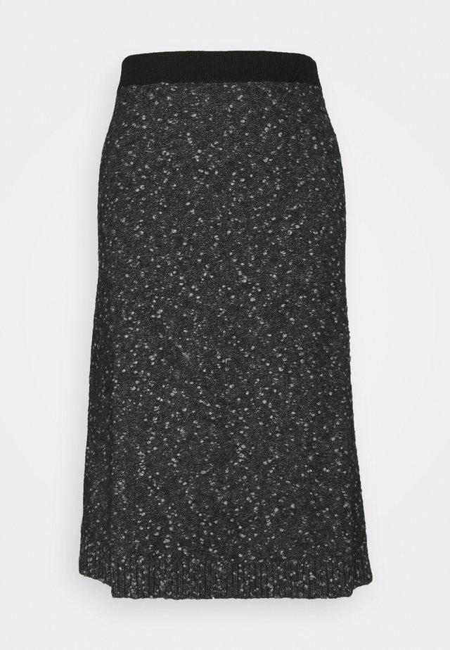 DARWIN - A-linjainen hame - dark grey/black
