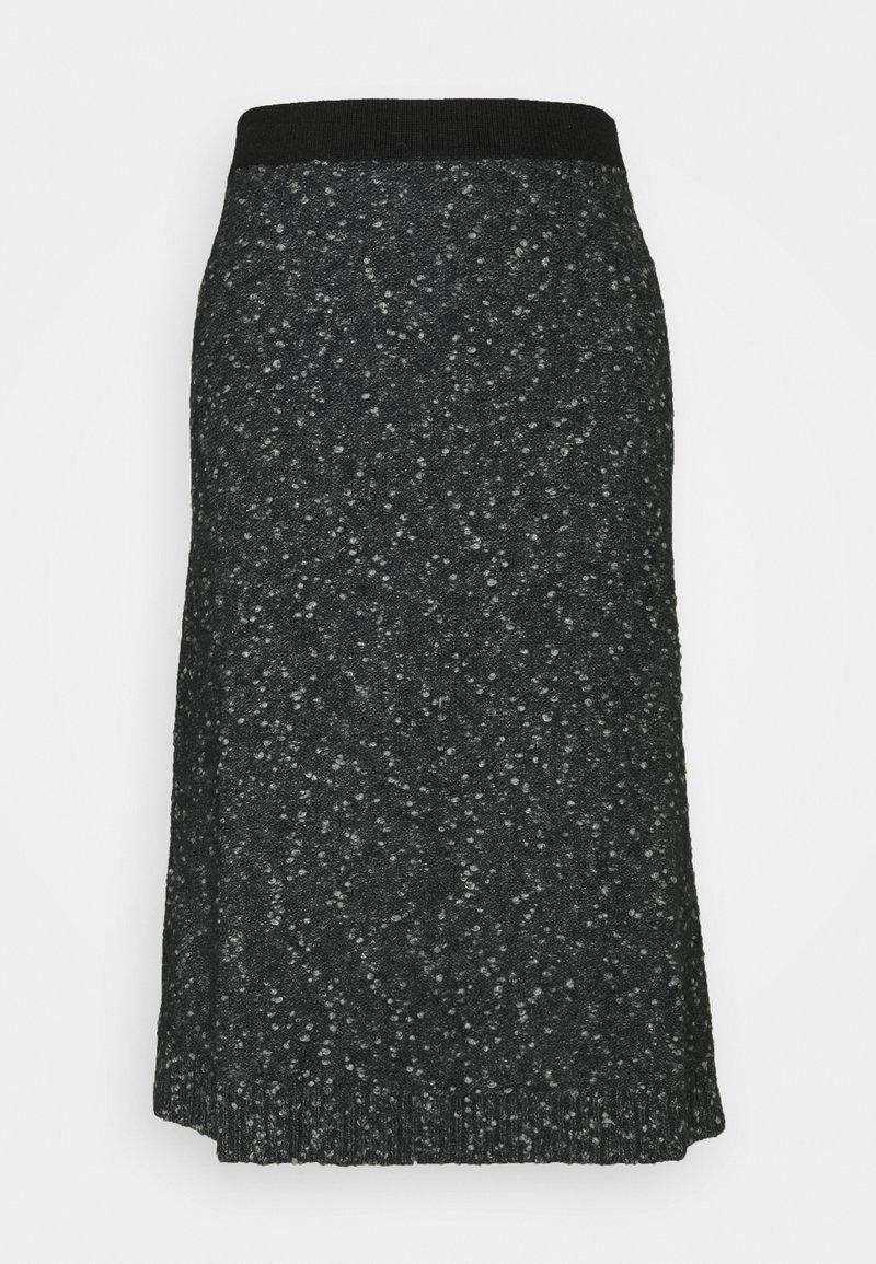 MAX&Co. - DARWIN - Jupe trapèze - dark grey/black