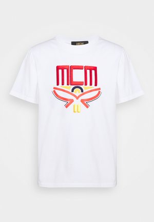 COLLECTION SHORT SLEEVES TEE - Print T-shirt - white