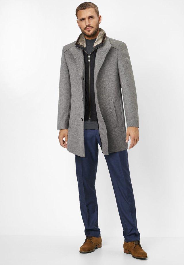 NEWTON - Short coat - grey melange