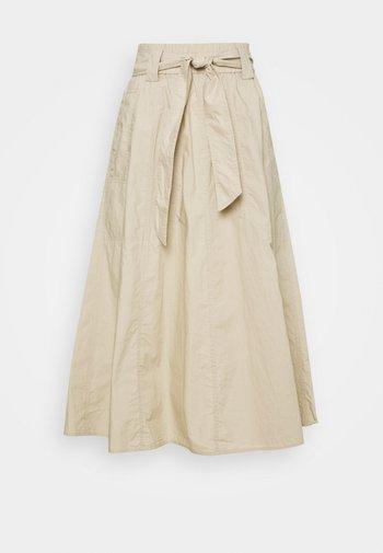 A-line skirt - hazel wood