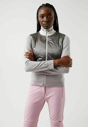 LUNA HYBRID - Zip-up sweatshirt - micro chip