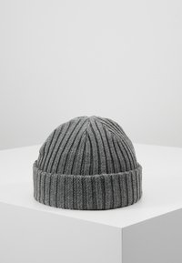 Jack & Jones - JACRDD SHORT BEANIE - Beanie - grey melange - 2