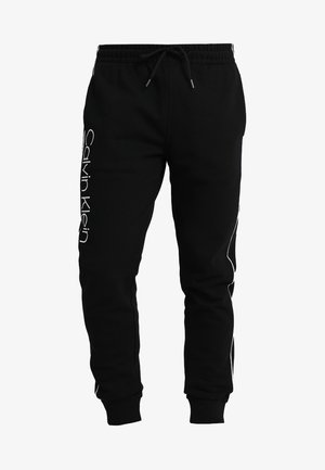 LOGO PRINT - Pantaloni sportivi - perfect black