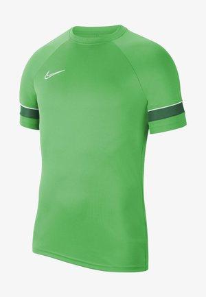 T-shirt z nadrukiem - light green spark/white/pine green/white