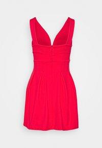 WAL G PETITE - Jersey dress - coral - 1