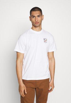 UNISEX FRESHLY BAKED RETRO FIT TEE - T-shirt imprimé - white