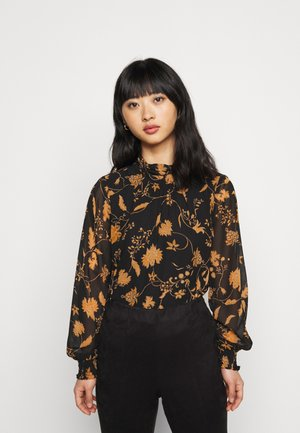 VIREMI - Blouse - black