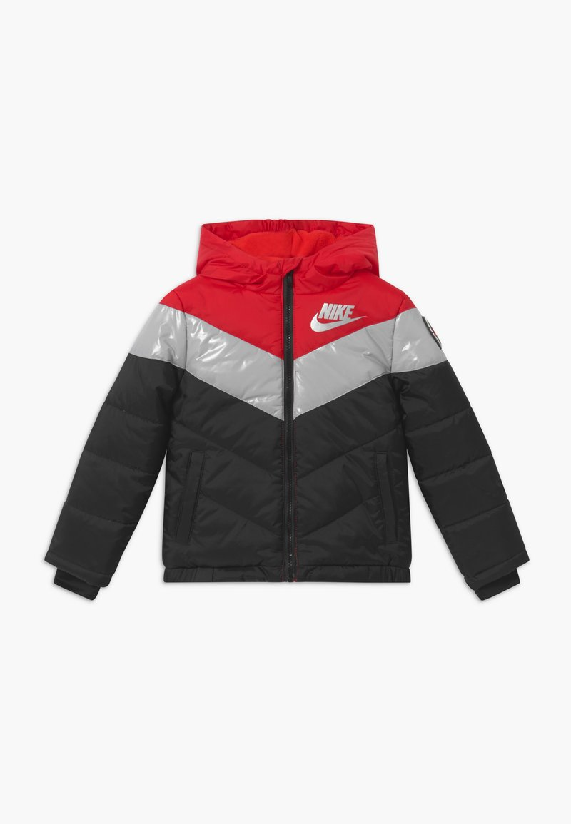 Nike Sportswear - COLOR BLOCK HEAVY PUFFER - Vinterjacka - university red