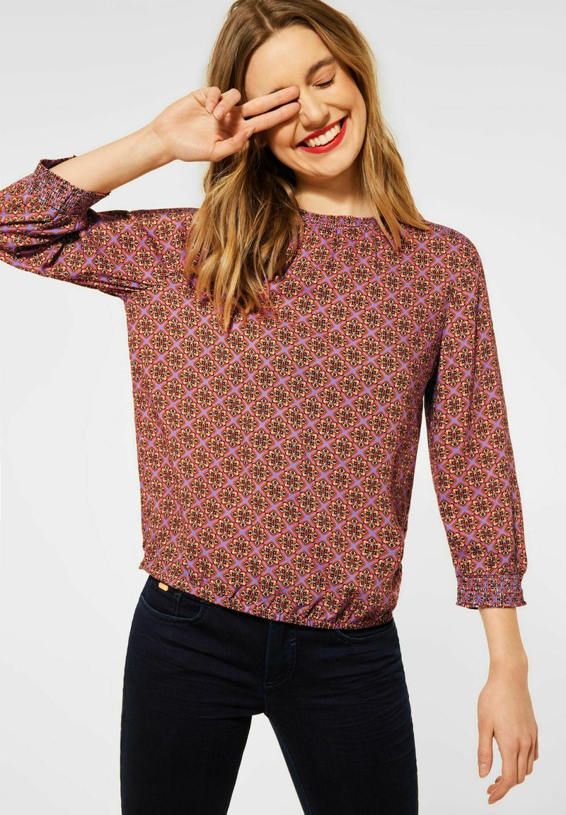 Street One - Blouse - lila