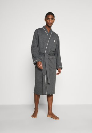 LOOP BACK - Dressing gown - charcoal heather