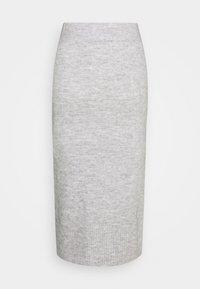 ONLY - ONLCILLE SKIRT  - Blyantskjørt - light grey melange - 1