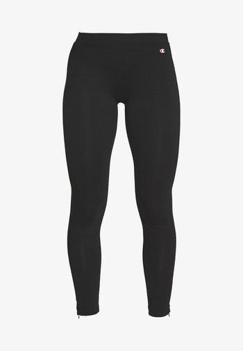 7/8 LEGGINGS - Leggings - black