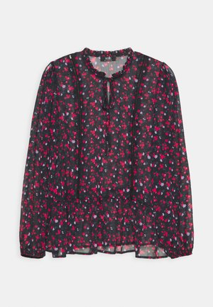 FORGET ME NOT BLOUSE - Longsleeve - purple