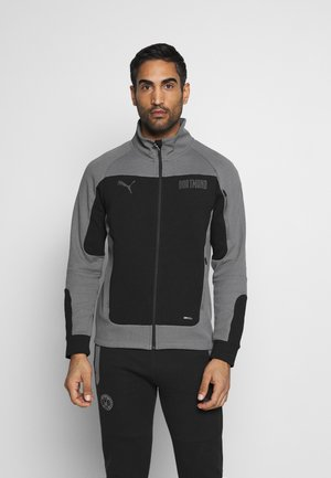 Training jacket - black/castlerock
