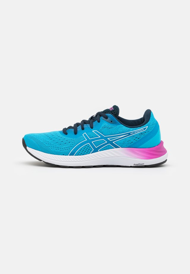 GEL EXCITE 8 - Neutral running shoes - digital aqua/white