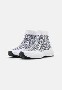 Calvin Klein - BEAUDAN - High-top trainers - white/black - 2