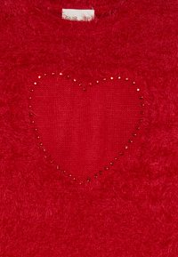 OVS - HAIRY JUMPER HEARTS - Stickad tröja - chrysanthemum - 3