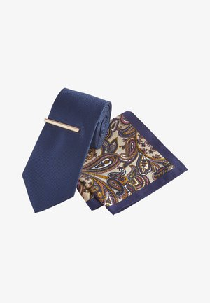 SET - Pocket square - blue-grey
