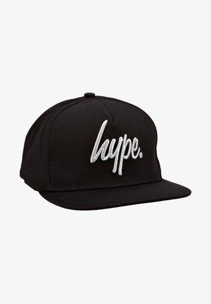 CAP - REFLECTIVE SCRIPT - Kšiltovka - black