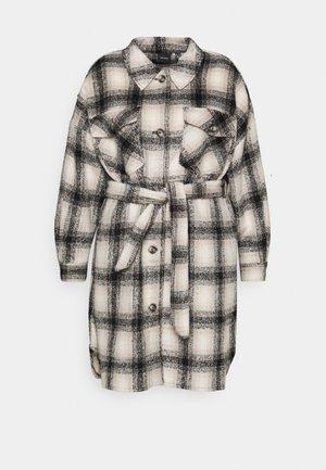 VMLUNA LONG JACKET - Classic coat - safari