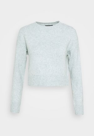 CROP JUMPER - Jumper - light green