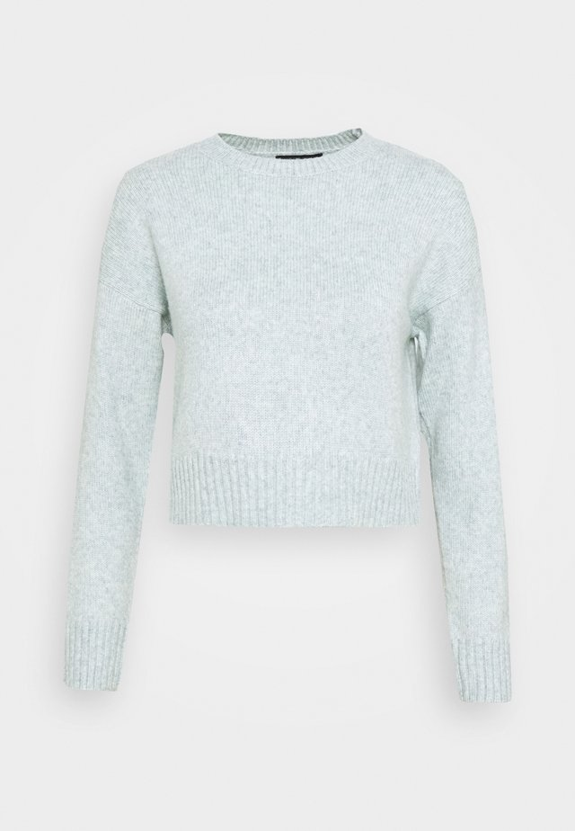 CROP JUMPER - Sweter - light green