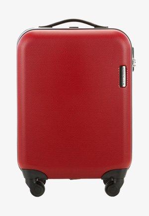 KLEINER KOFFER - Wheeled suitcase - red