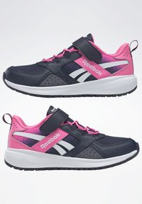 Reebok - ROAD SUPREME 2 ALT SHOES - Neutral running shoes - dark blue/pink - 6