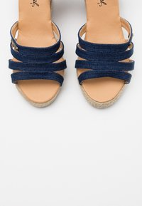 Kaporal - MONTY - High heeled sandals - marine - 5