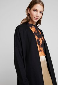 Monki - CAMILLA CARDIGAN - Collegetakki - black - 5