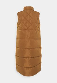 ONLY - ONLSTACY QUILTED WAISTCOAT - Waistcoat - toasted coconut - 1