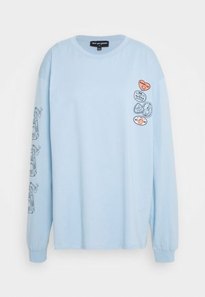 REFRESH JUICE TEE - Long sleeved top - blue