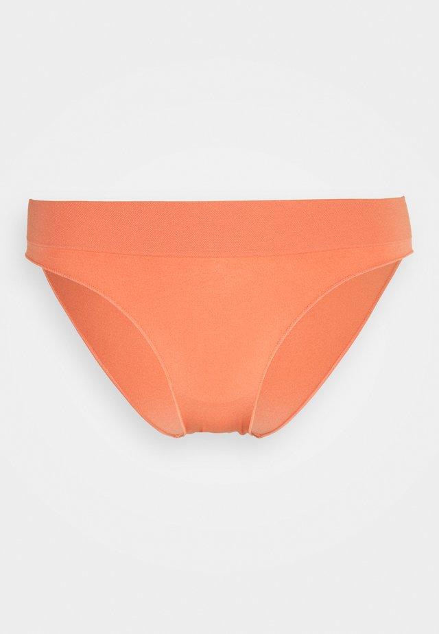 SOFT FEEL HIPSTER BRIEF - Briefs - peach