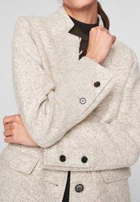 s.Oliver BLACK LABEL - Classic coat - beige - 5