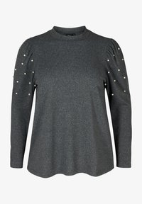Zizzi - Long sleeved top - dark grey - 1