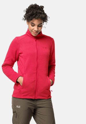 NORRLAND 3-IN-1 - Fleece jacket - clear red