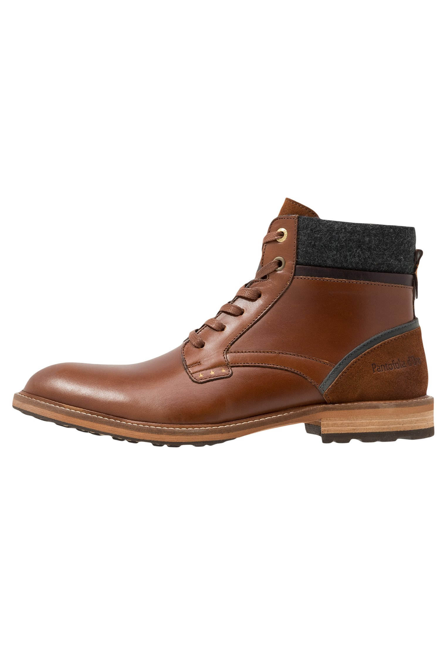 Homme PIZZOLI UOMO HIGH - Bottines à lacets