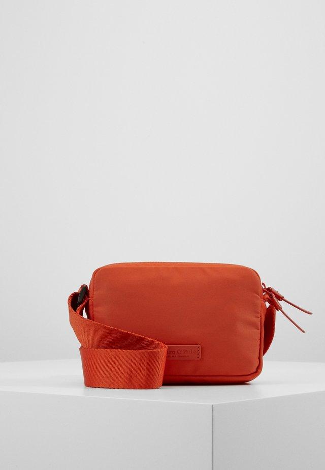 Across body bag - pumpkin orange