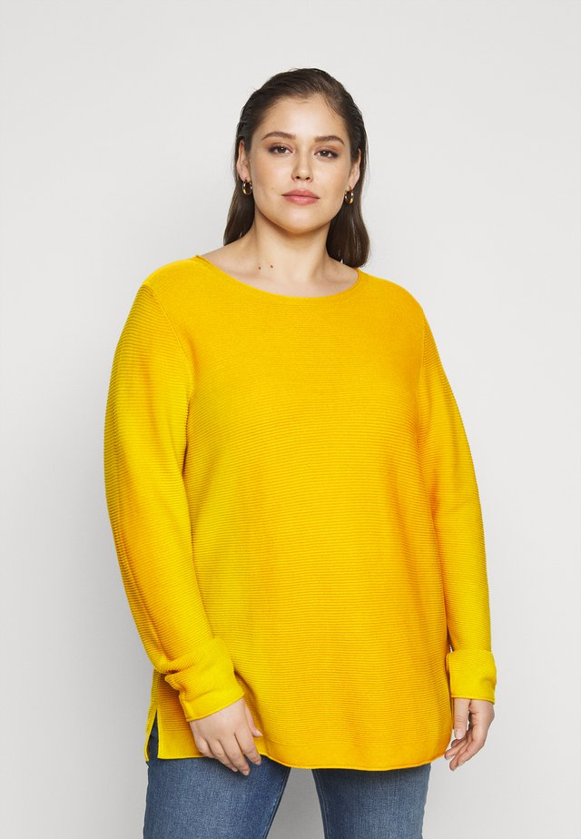 STRUCTURED - Jumper - california sand yellow
