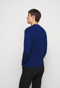 PS Paul Smith - MENS CREW NECK ZEBRA - Jumper - dark blue - 2