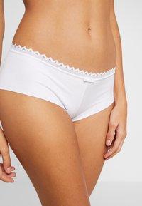 LOU Lingerie - OXYGENE BOYSHORT - Underkläder - blanc - 4